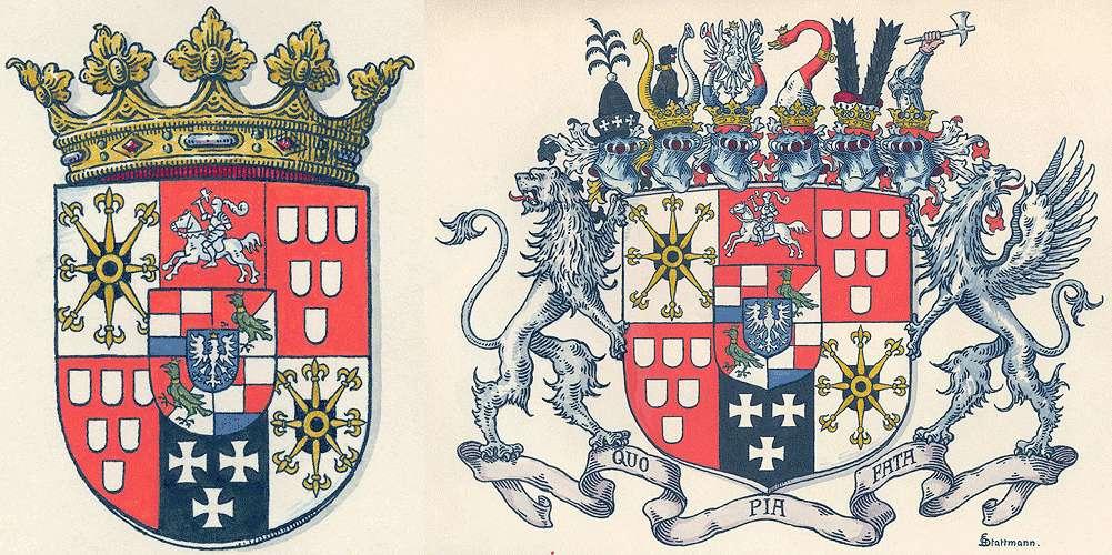 Degenfeld-Schonburg, Grafen von Persönliche Verhältnisse der Familie, Bild 1