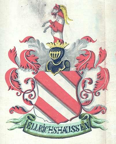 Ellrichshausen, Freiherren von Persönliche Verhältnisse der Familie, Bild 1