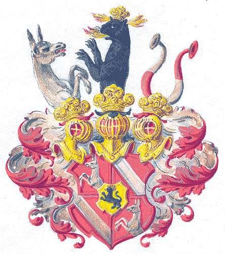 Racknitz, Freiherren von Persönliche Verhältnisse der Familie, Bild 1