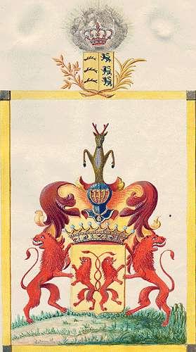 Rechberg-Rothenlöwen, Grafen von Persönliche Verhältnisse der Familie, Bild 1