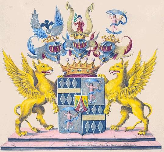 Süßkind-Schwendi, Freiherren von Persönliche Verhältnisse der Familie, Bild 1