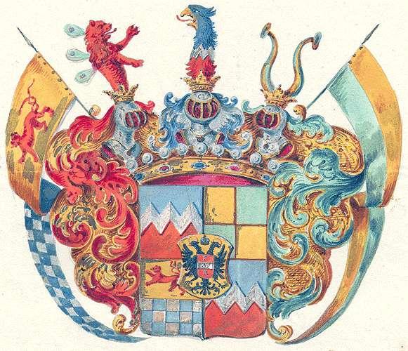 Ulm-Erbach-Mittelbiberach, Freiherren von Persönliche Verhältnisse der Familie, Bild 1