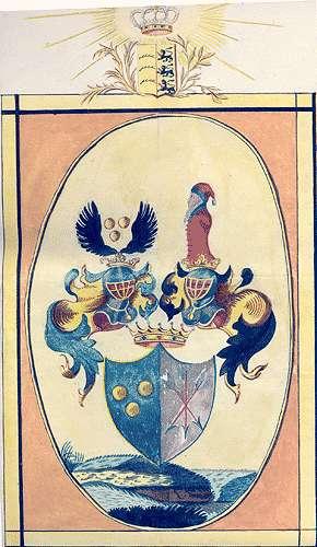 Breuning, (Freiherren) von Familiäre Veränderungen und Adelsnachweise, Bild 1