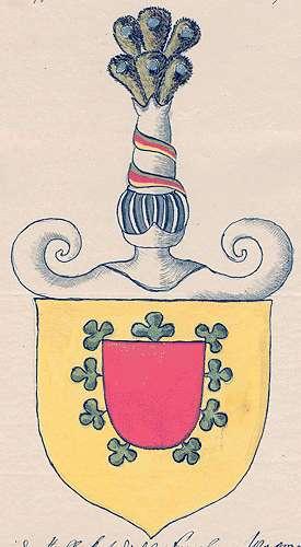 Kniestedt-Schaubeck, Freiherren von Familiäre Veränderungen, Bild 1
