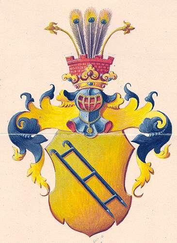 Lützow, Freiherren von Überprüfung des Adelsstandes von Oberforstmeister Friedrich Freiherr von Lützow, Bild 1
