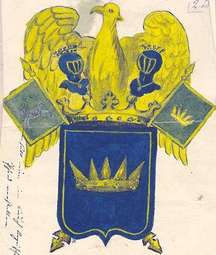 Malchus, Freiherren von Aufnahme in die Personalmatrikel, Bild 1