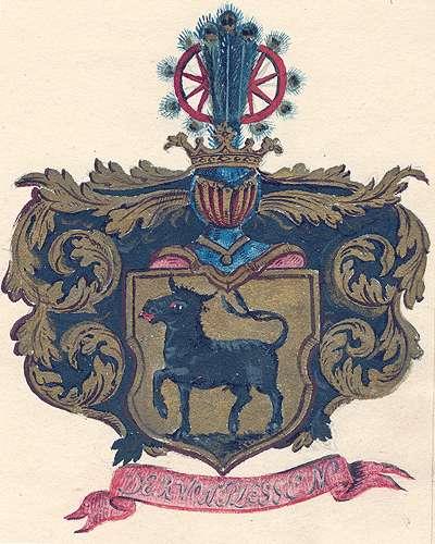Plessen, Freiherren von Aufnahme des Barons Ludwig von Plessen in die Adelsmatrikel, Bild 1