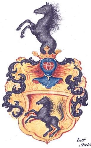 Renner, von Aufnahme des Majors Abraham von Renner in die Adelsmatrikel, Bild 1