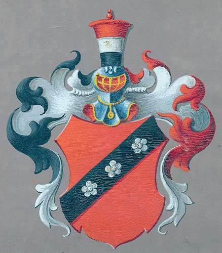 Röder, Freiherren von (Thüringer Linie, Dörnfelder Ast) Aufnahme der Familie in die Adelsmatrikel, Bild 1