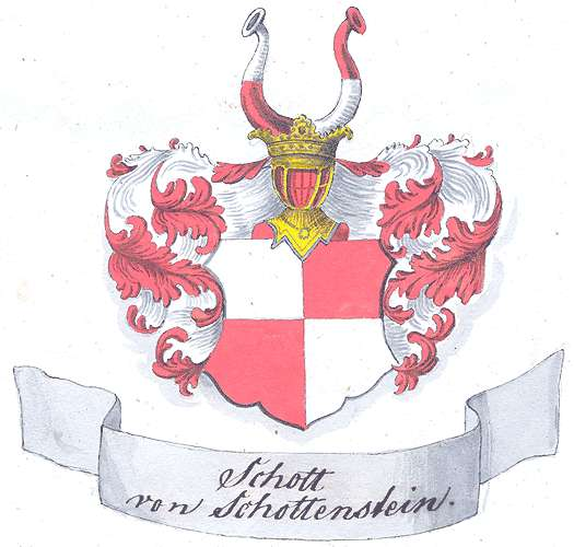 Schott von Schottenstein genannt Hopfer, Freiherren Anlage und Fortführung der Personalmatrikel, Bild 1