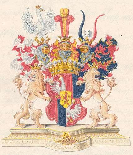 Unruh, Grafen von Anerkennung der Exemtionsverhältnisse des Grafen Eduard von Unruh und Aufnahme seiner Familie in die Adelsmatrikel, Bild 1