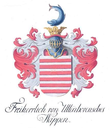 Uttenhoven, von Untersuchung der Adelsverhältnisse des Freiherrn von Uttenhoven, Bild 1