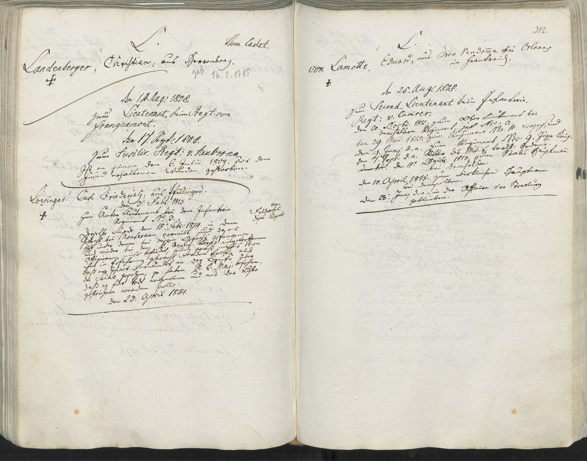 Lonsinger, Carl Friedrich, Bild 1