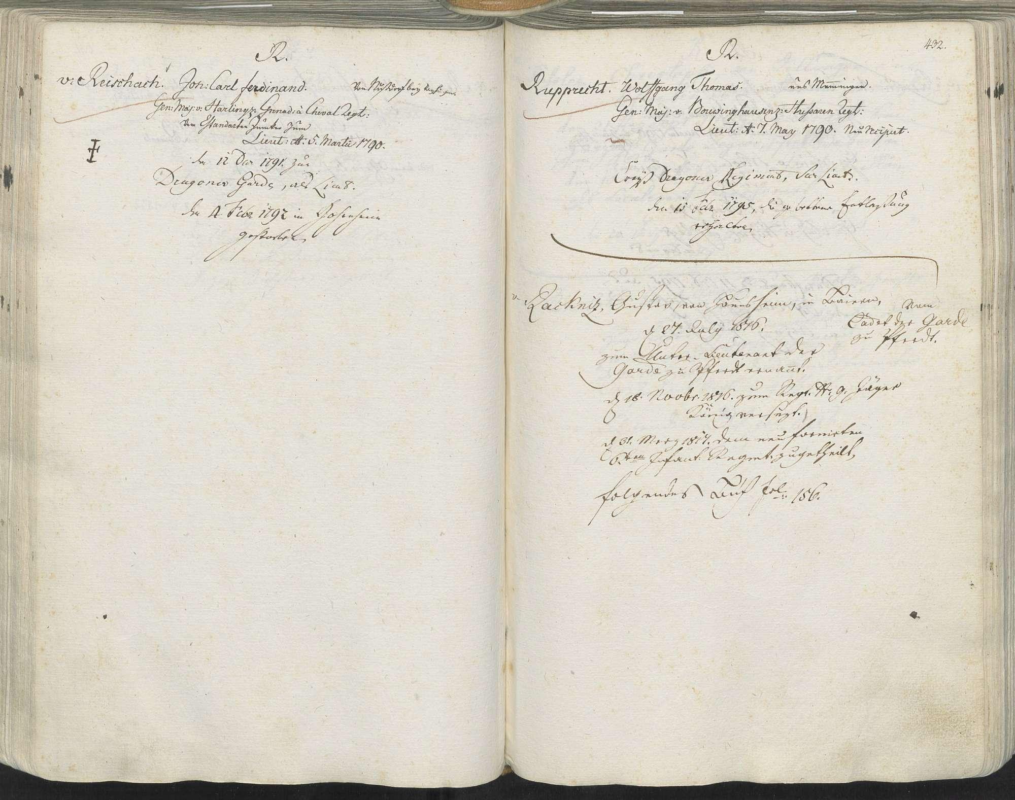 Reischach, Johann Carl Ferdinand von, Bild 1