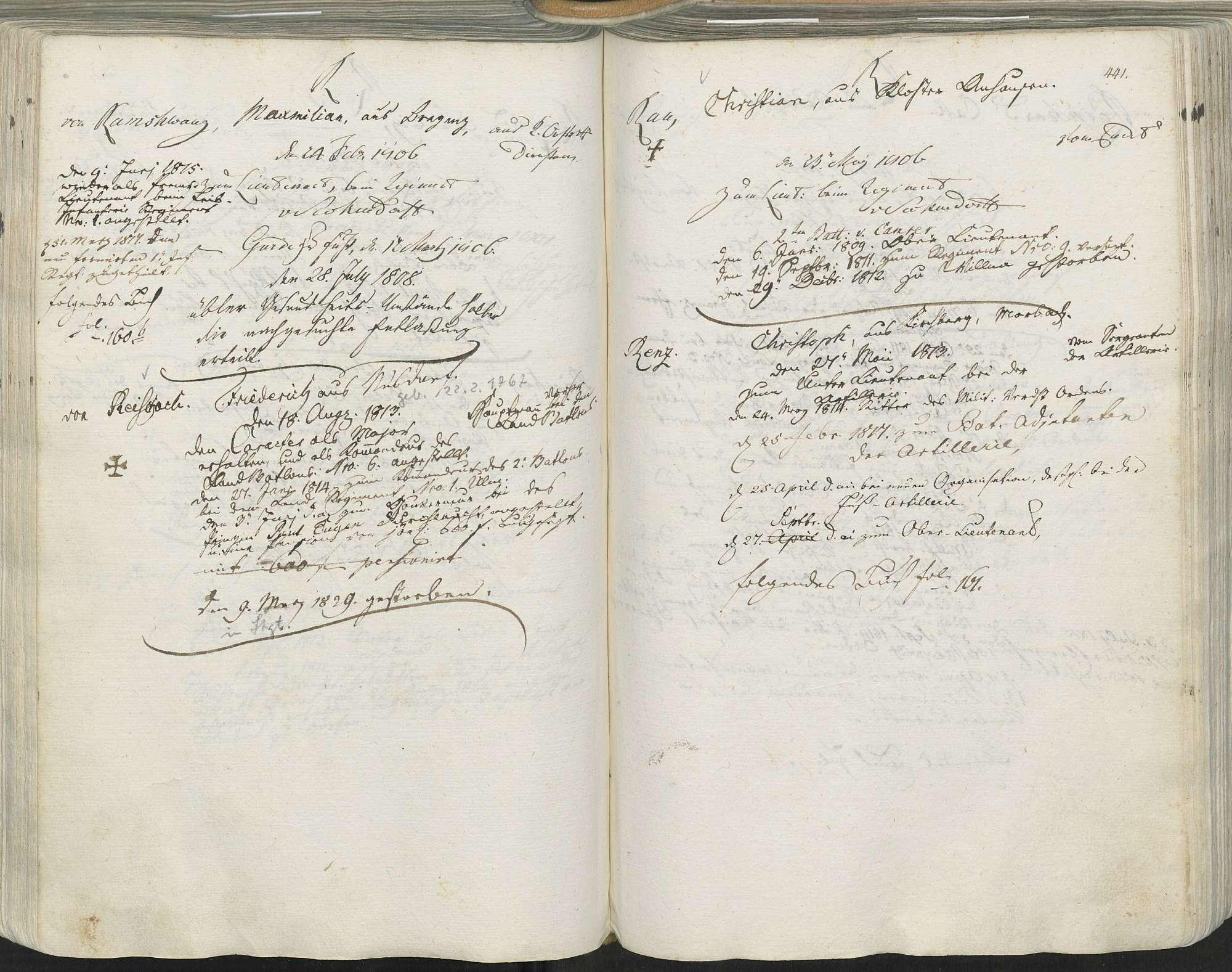 Reischach, Friedrich von, Bild 1