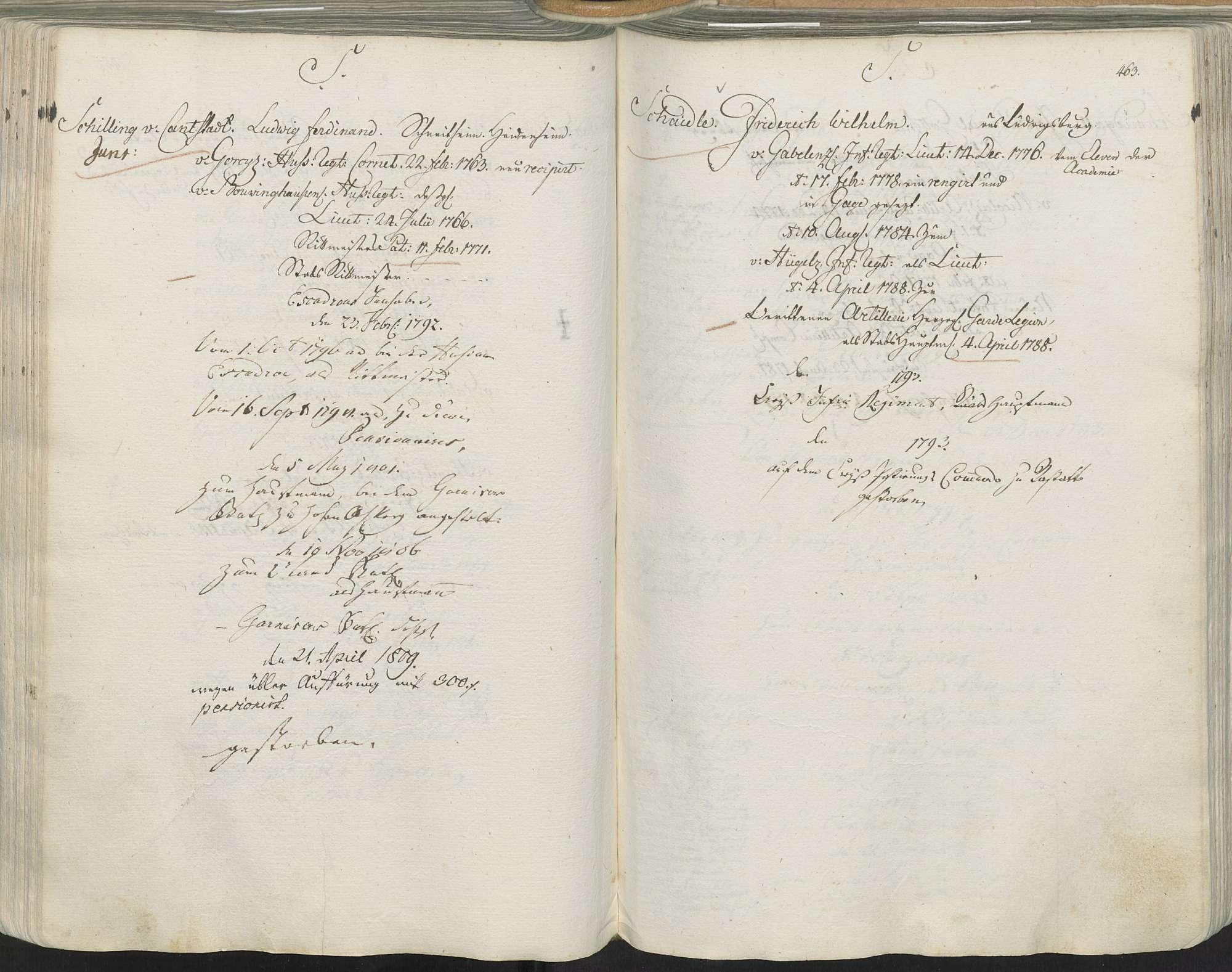 Schilling von Cantstadt, Ludwig Ferdinand, Bild 1