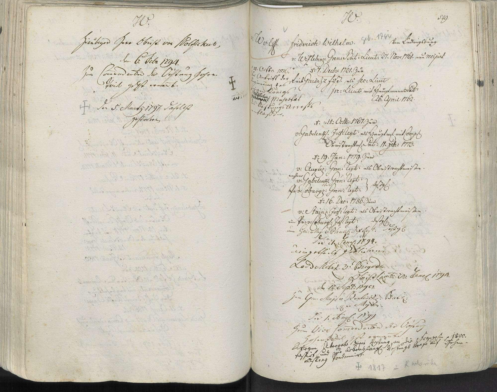 Wolffskeel, Johann Carl Albrecht von, Bild 2
