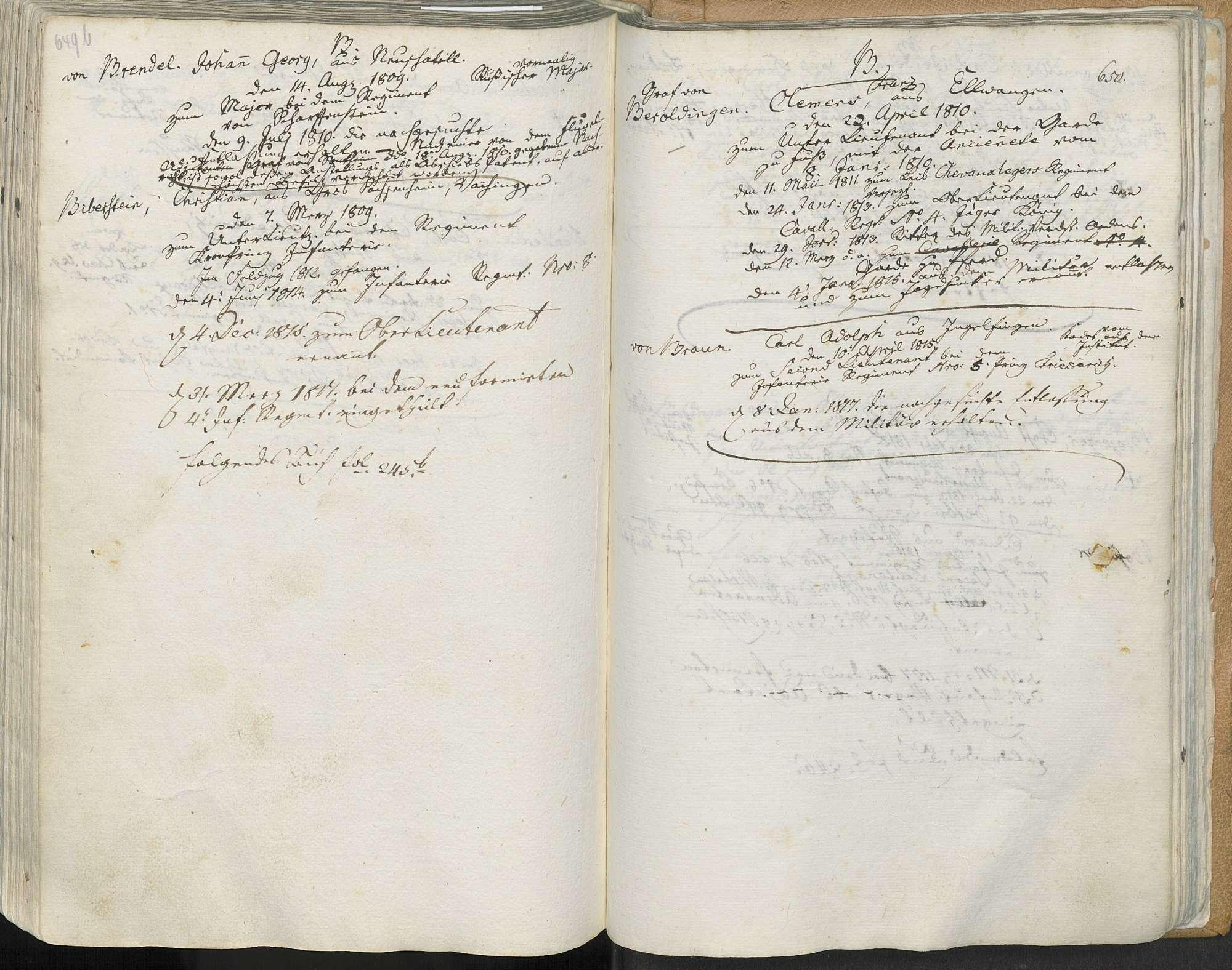 Beroldingen, Clemens Franz von, Bild 1