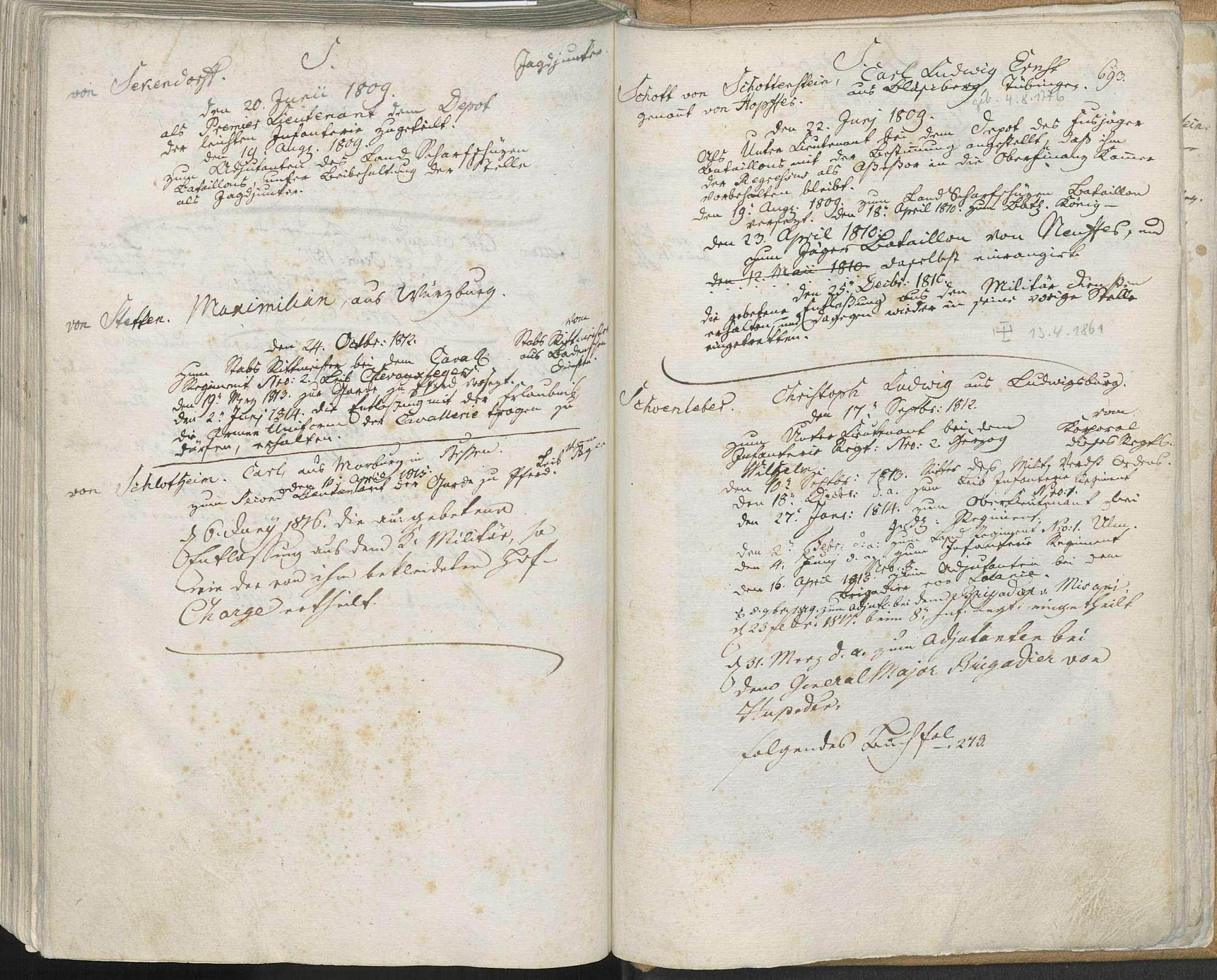 Schott von Schottenstein, Carl Ludwig Ernst, genannt von Hopffer, Bild 1
