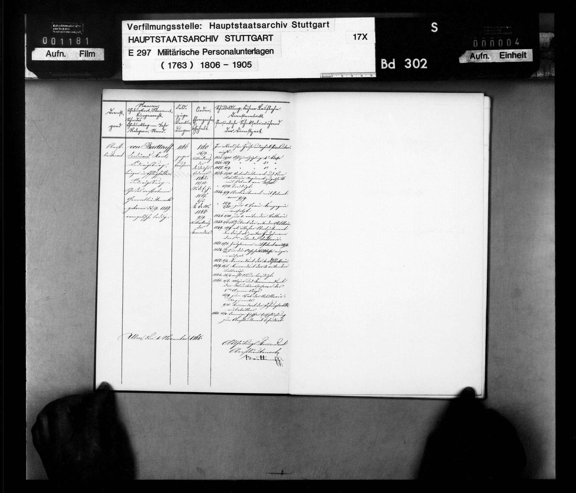 Nationallisten der Offiziere und Militärbeamten der Festungsartillerie Ulm, Bild 3