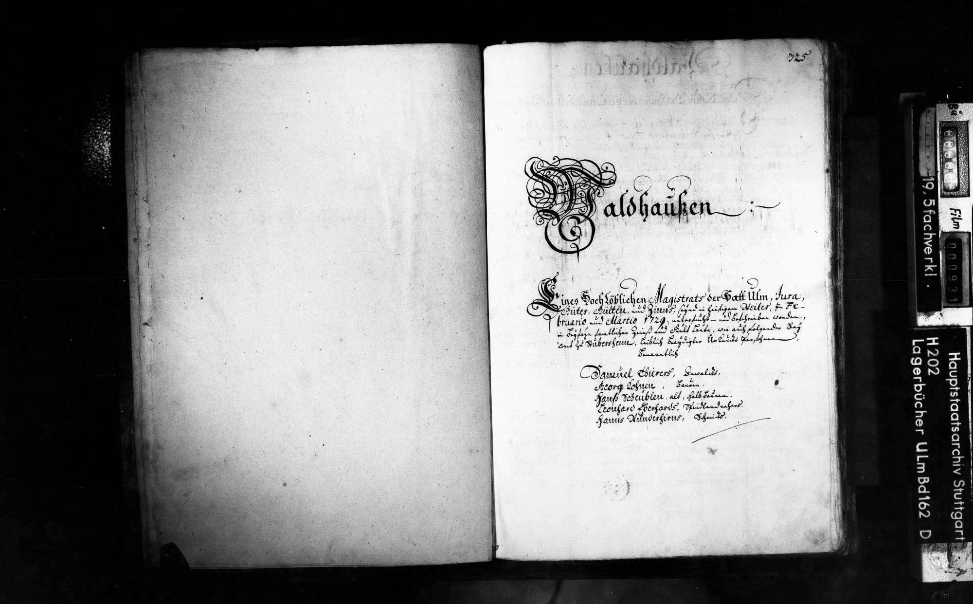 Amt Subersheim und Amt Ravenstein 2. Bd., Bild 2