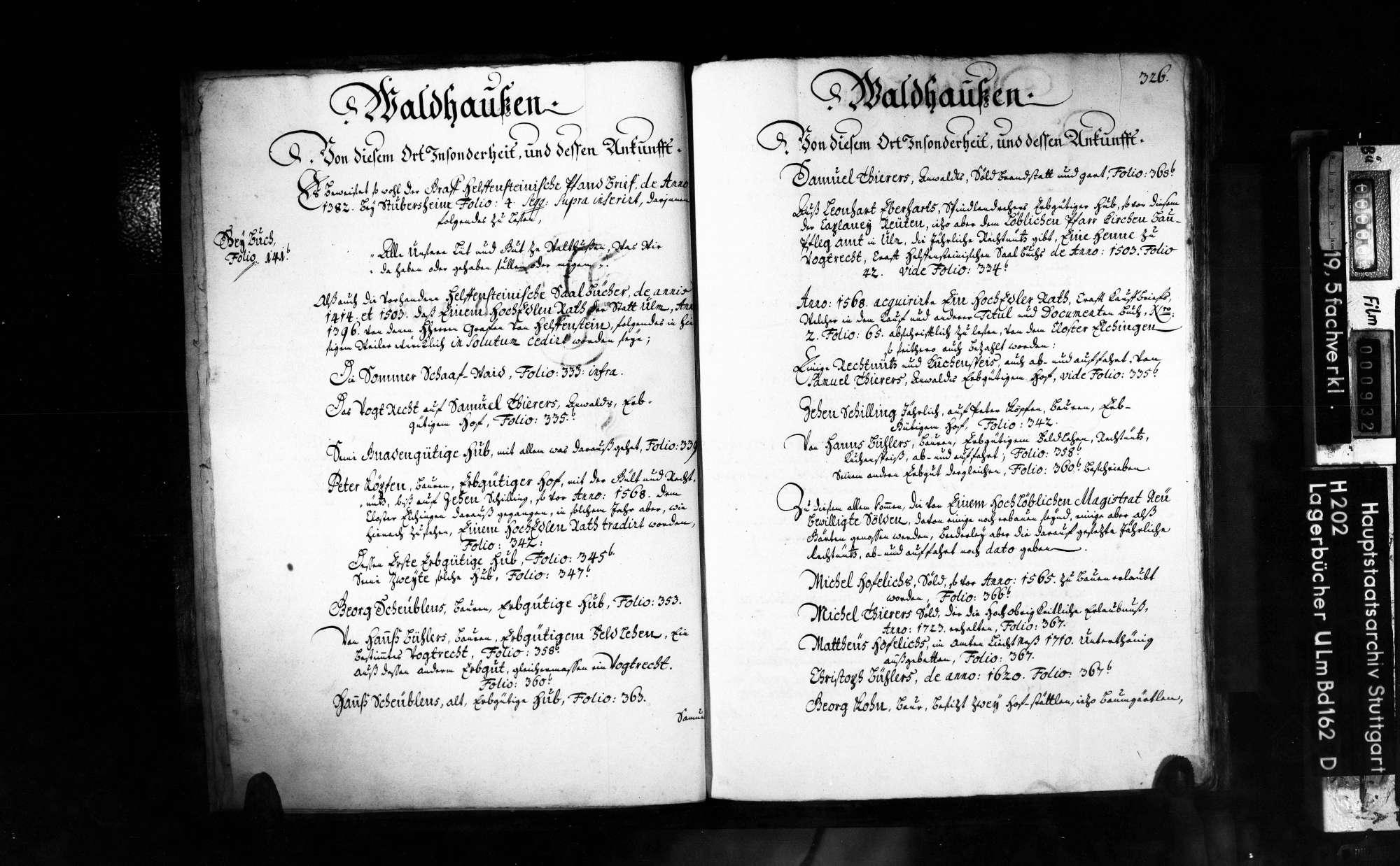 Amt Subersheim und Amt Ravenstein 2. Bd., Bild 3