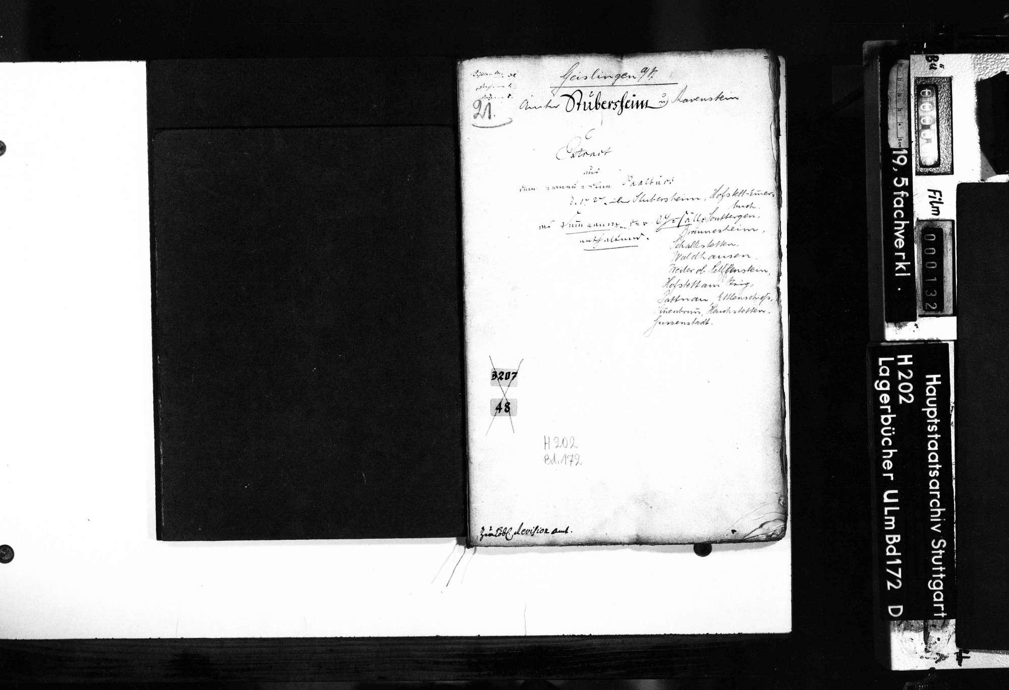 Amt Stubersheim und Ravenstein: Auszüge, Bild 2