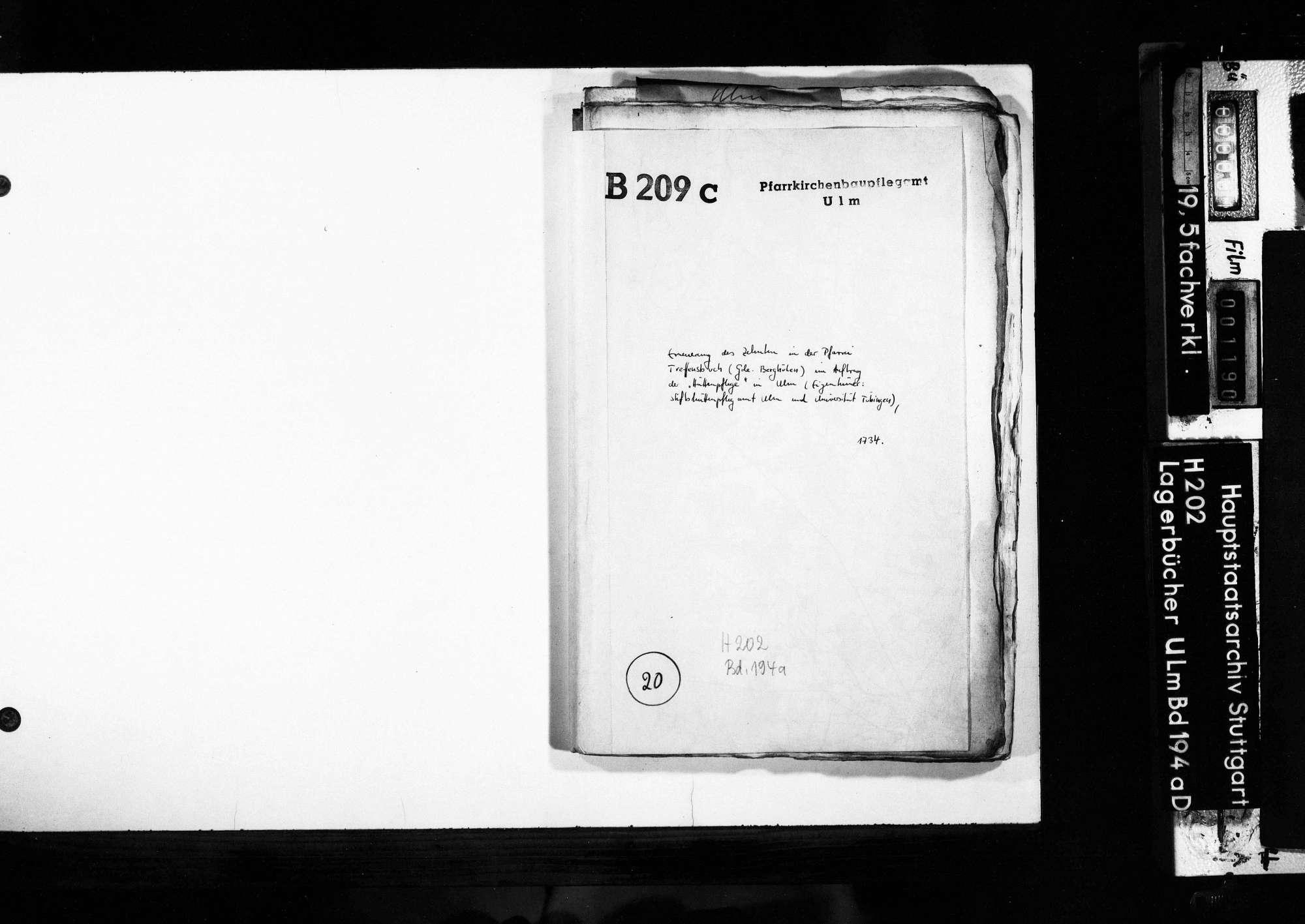 Treffensbuch, Gemeinde Berghülen, Bild 1
