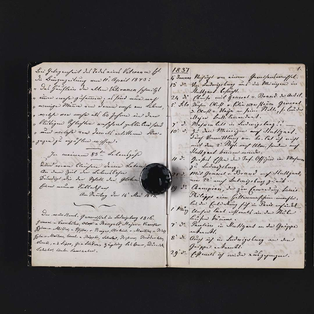 """""""Tagebuch 1837-1850"""", Bild 2"""