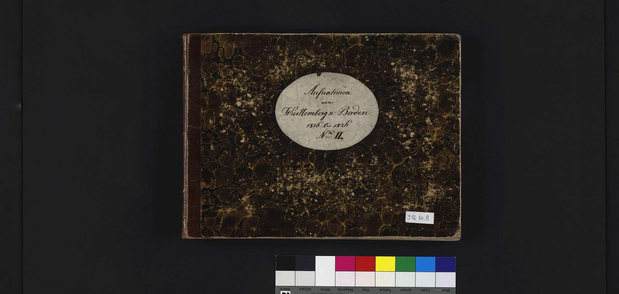 """""""Aufnahmen von Württemberg und Baden <sowie Worms,Speyer,Neu-Ulm> 1816 - 1826"""", Bild 2"""