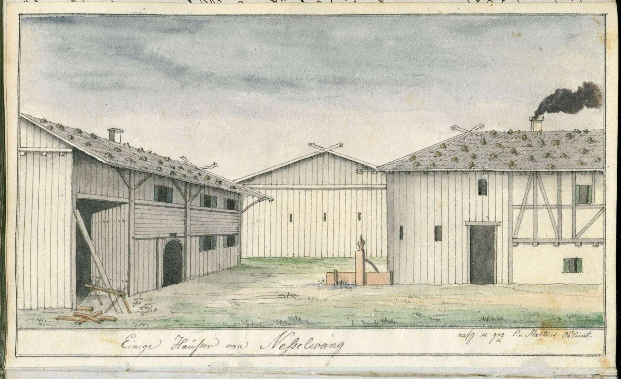 Tagebuch von Christian von Martens über seine Reise nach Venedig, seinen Aufenthalt dort und die Rückreise im Sommer 1816, Bild 1