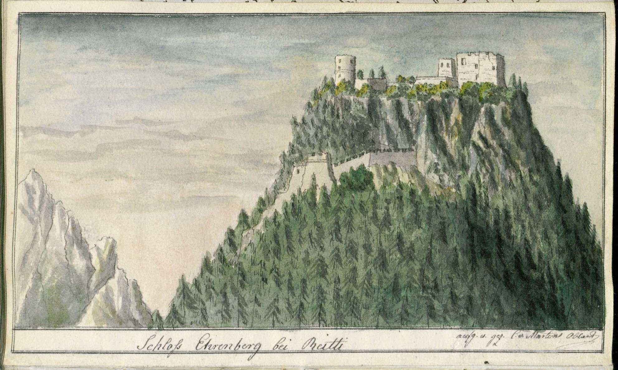 Tagebuch von Christian von Martens über seine Reise nach Venedig, seinen Aufenthalt dort und die Rückreise im Sommer 1816, Bild 3