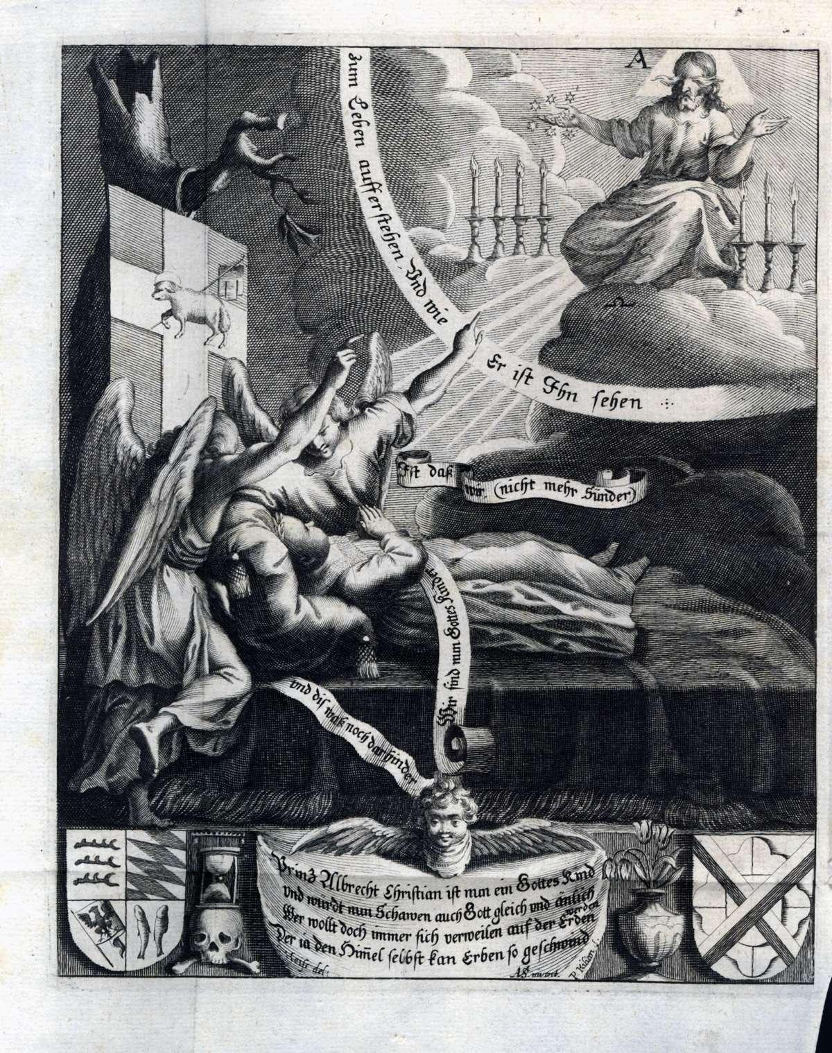 Leichenpredigten über Mitglieder des Hauses Württemberg, Bild 2