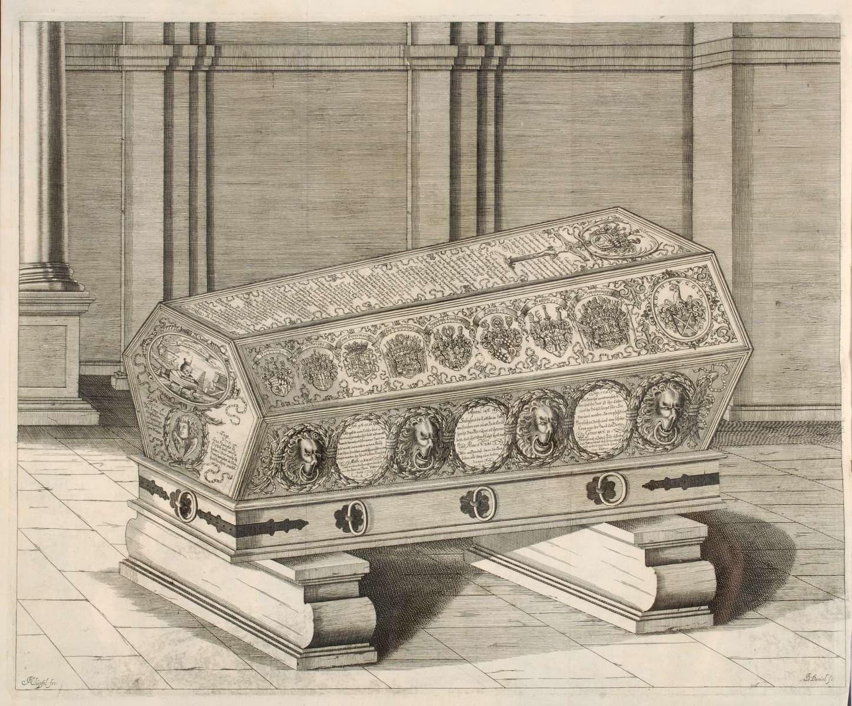 Leichenpredigten über Herzog Eberhard III. von Württemberg (geb. 16. Dez. 1614, gest. 2. Juli 1674), Bild 3