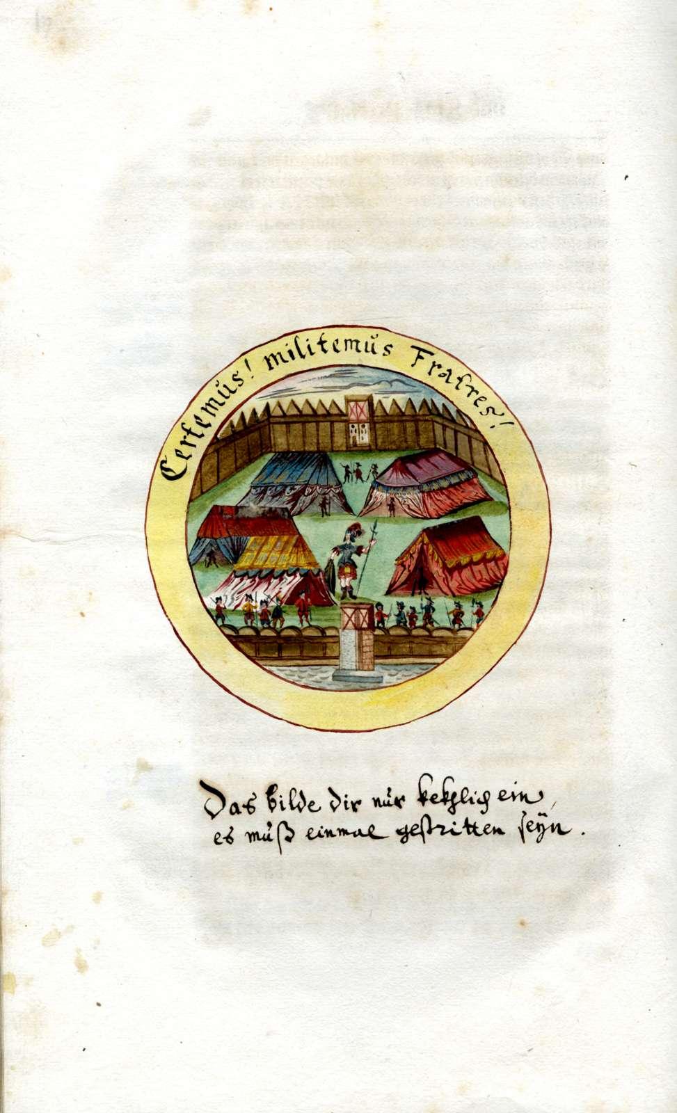 Leichenpredigten über Herzog Wilhelm Ludwig von Württemberg (geb. 7. Jan. 1647, gest. 23. Juni 1677, regierend 1674-1677), Bild 1