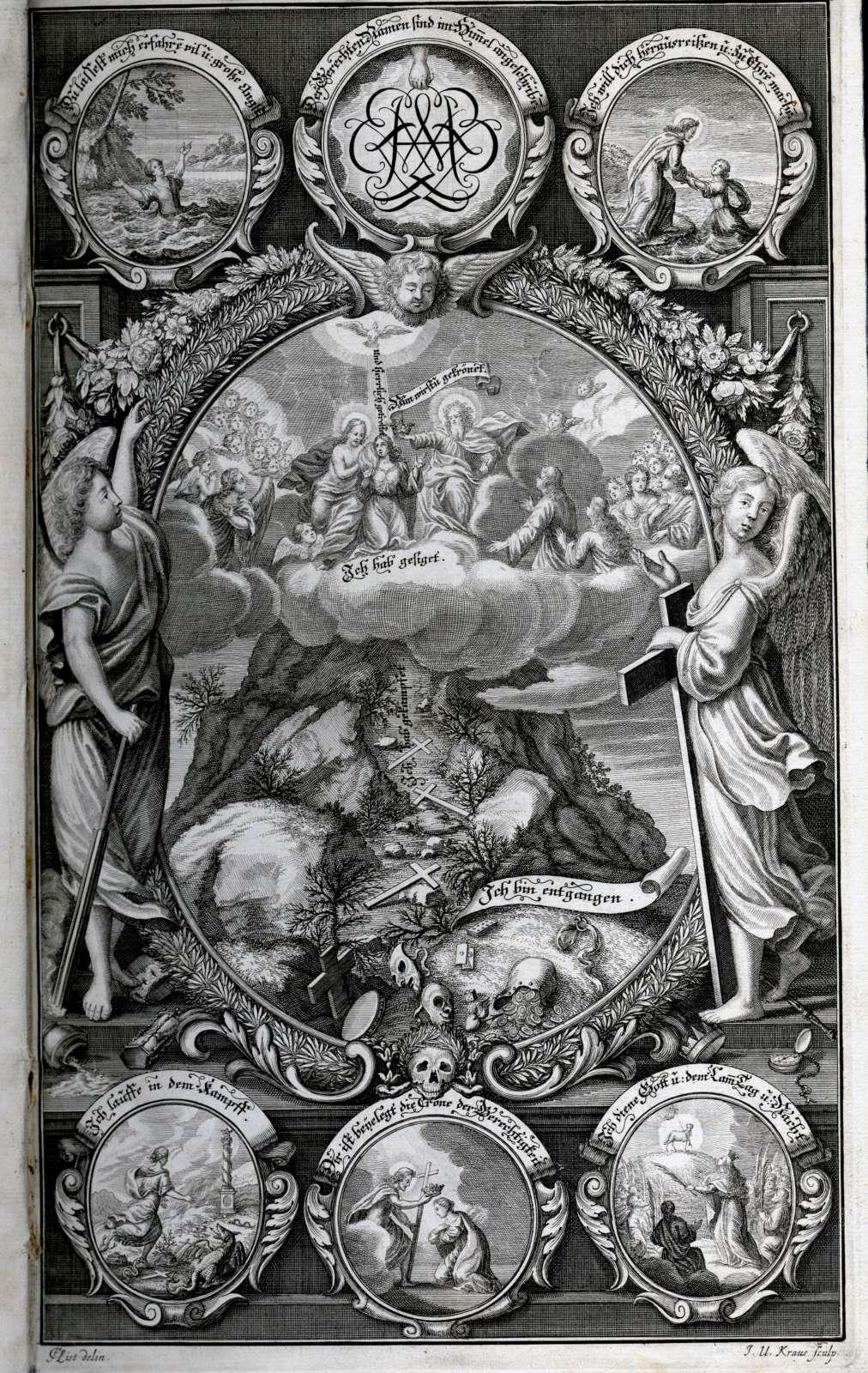 Leichenpredigten über Mitglieder des Hauses Württemberg, Bild 1