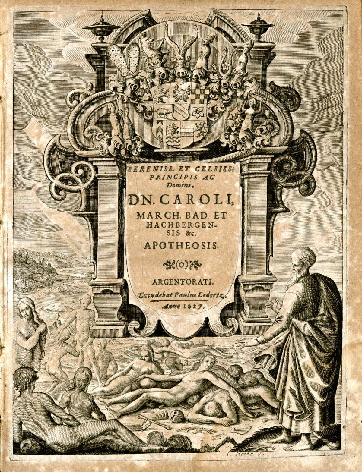 Leichenpredigten für Adlige, Bild 1
