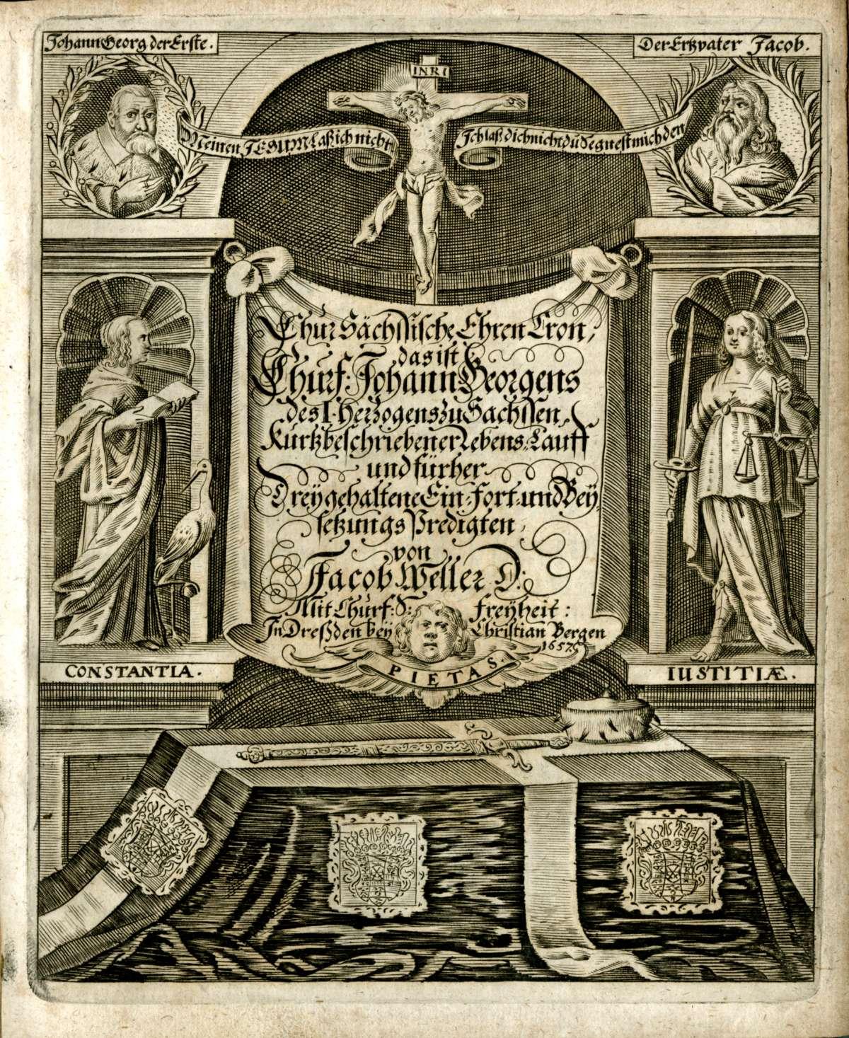 Leichenpredigten für Adlige, Bild 2