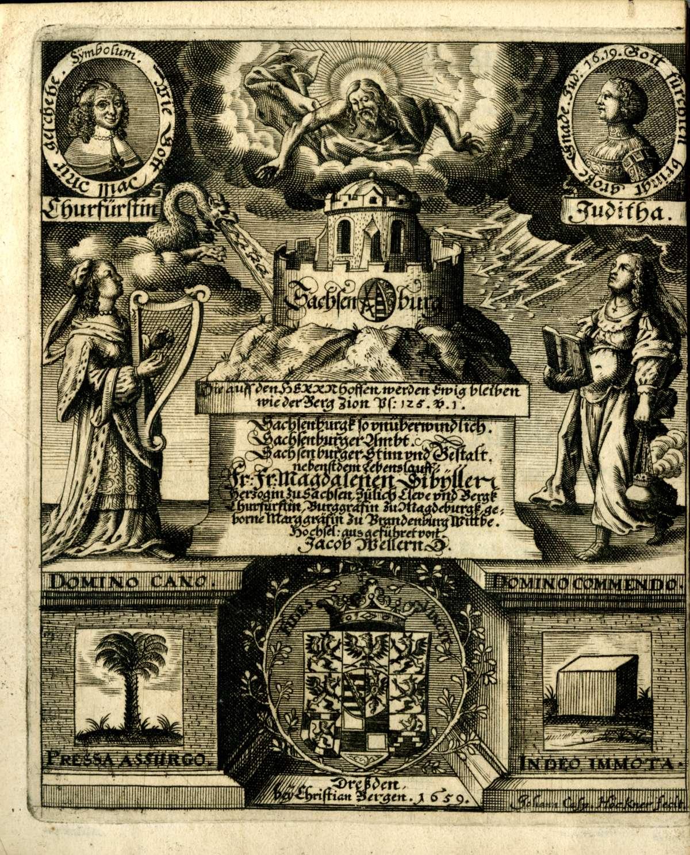 Leichenpredigten für Adlige, Bild 3
