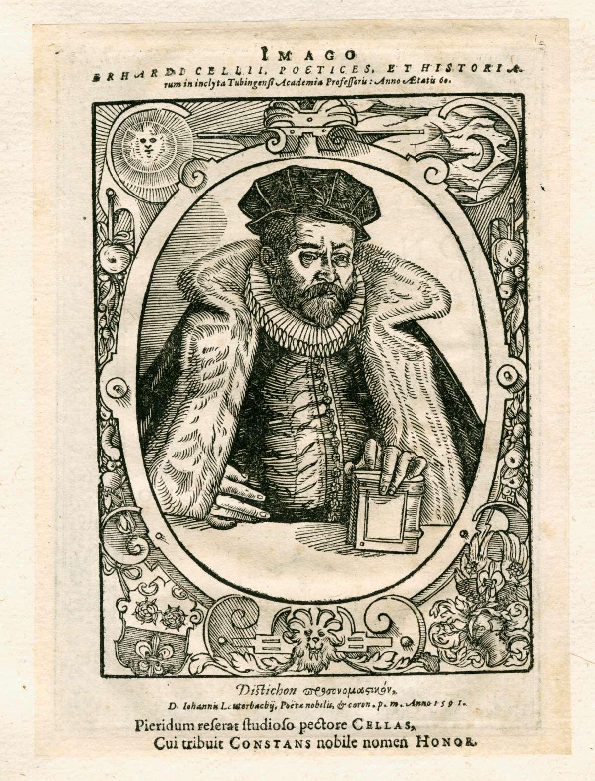 Leichenpredigten zu Mitgliedern der Familien Canz, Cellius (Horn), Carolus, von Castonier und Cellarius, Bild 1