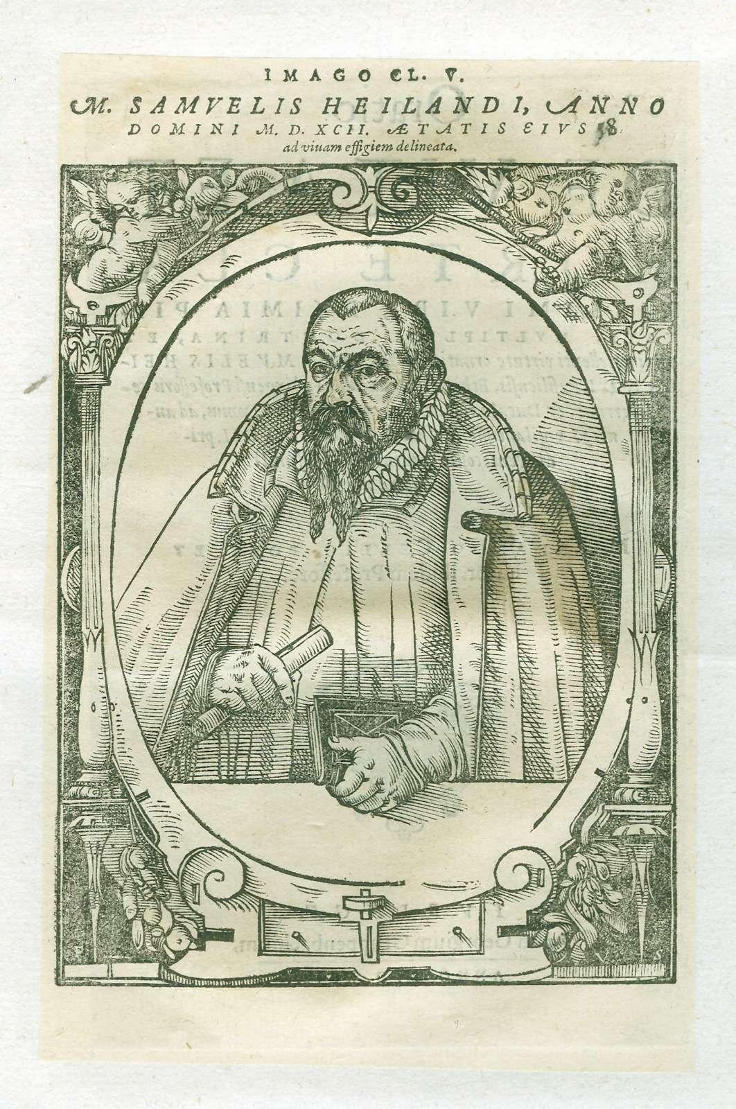 Leichenpredigten zu Mitgliedern der Familien Hehl, Heider, Heilbrunner und Heiland, Bild 1