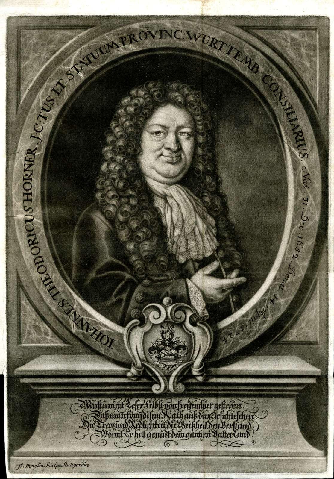 Leichenpredigten zu Mitgliedern der Familien Hofstetter, von Hocheck zu Vilseck, von Hohberg, Hoffmann Hösch und Hörner, Bild 3