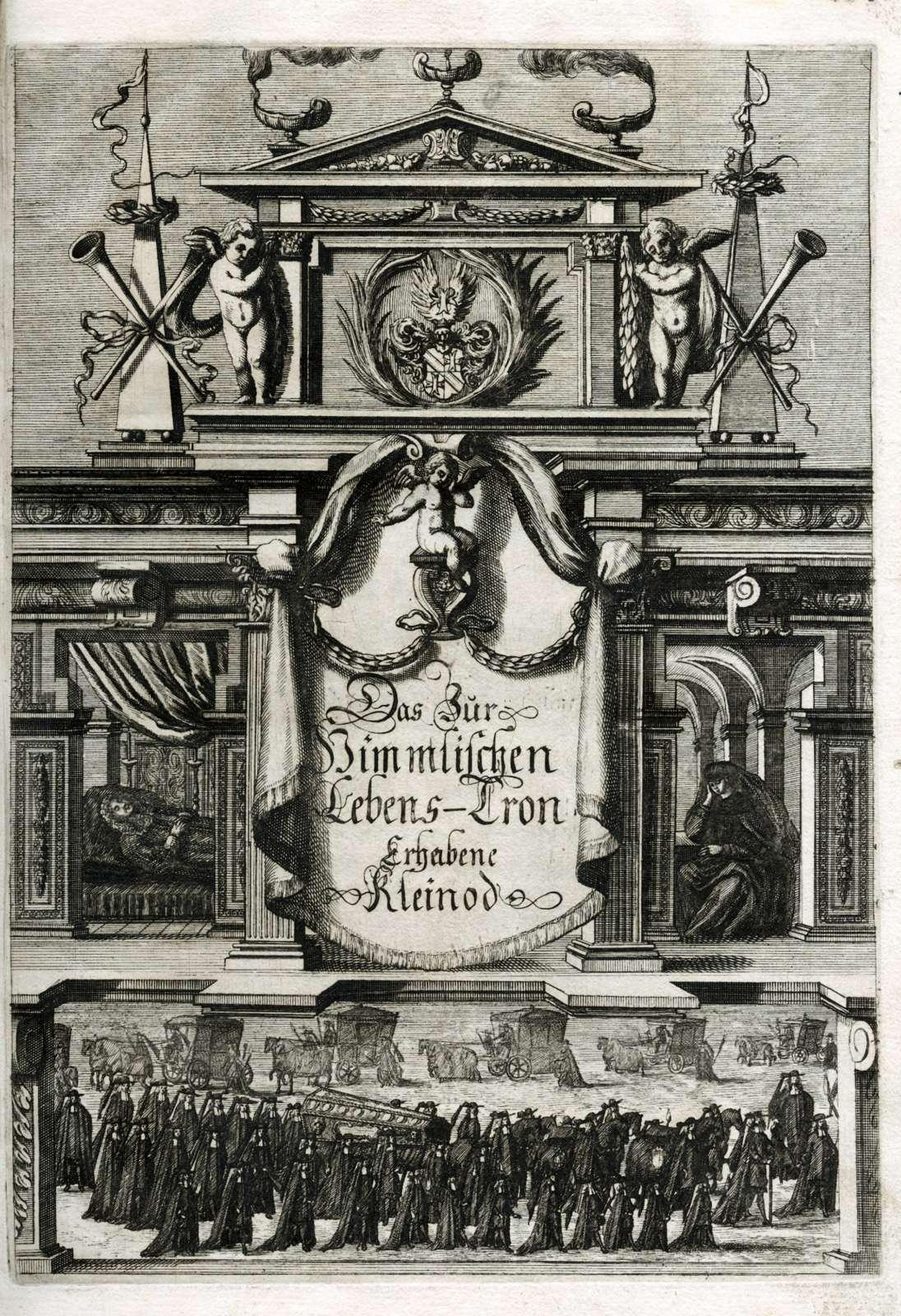 Leichenpredigten zu Mitgliedern der Familie von Stein, Steudlin, Stigler, Stecher, vom und zum Stein-Callenfels und Stierlin, Bild 1