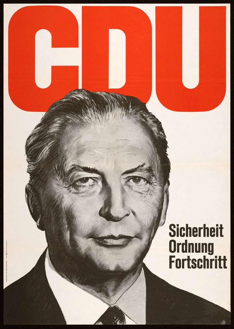 CDU - Christlich Demokratische Union, Landtagswahl 1968, Bild 1
