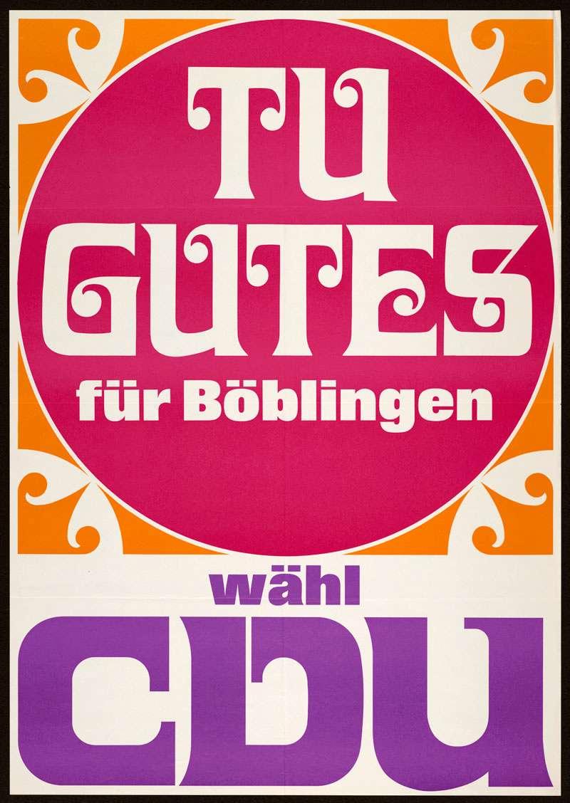 CDU, Gemeinderatswahl 1968, Bild 1
