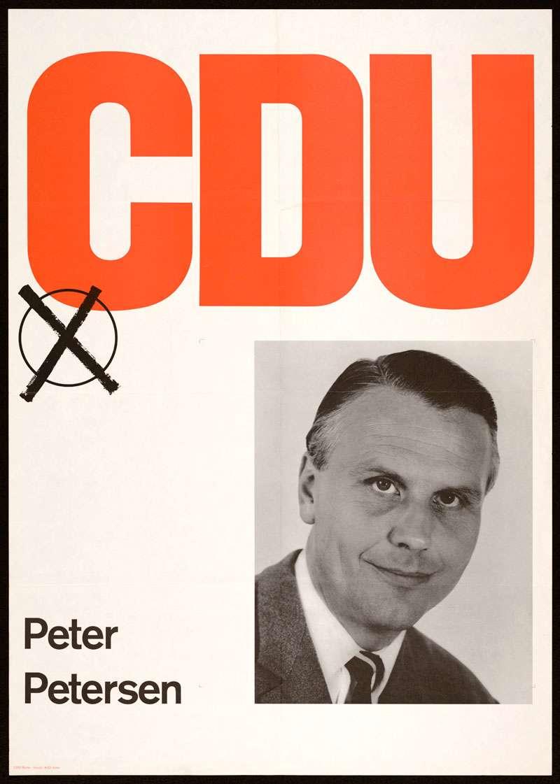 CDU, Bundestagswahl 1972, Bild 1