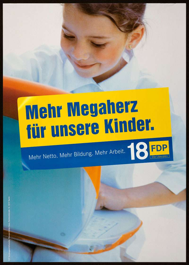 FDP, Bundestagswahl 2002, Bild 1