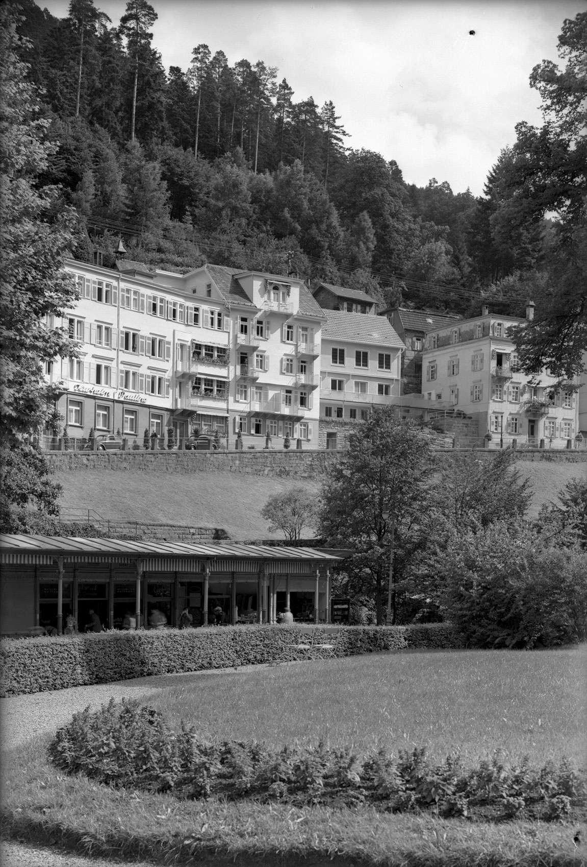 Wildbad und Calmbach u.a. 1954, Nr 002