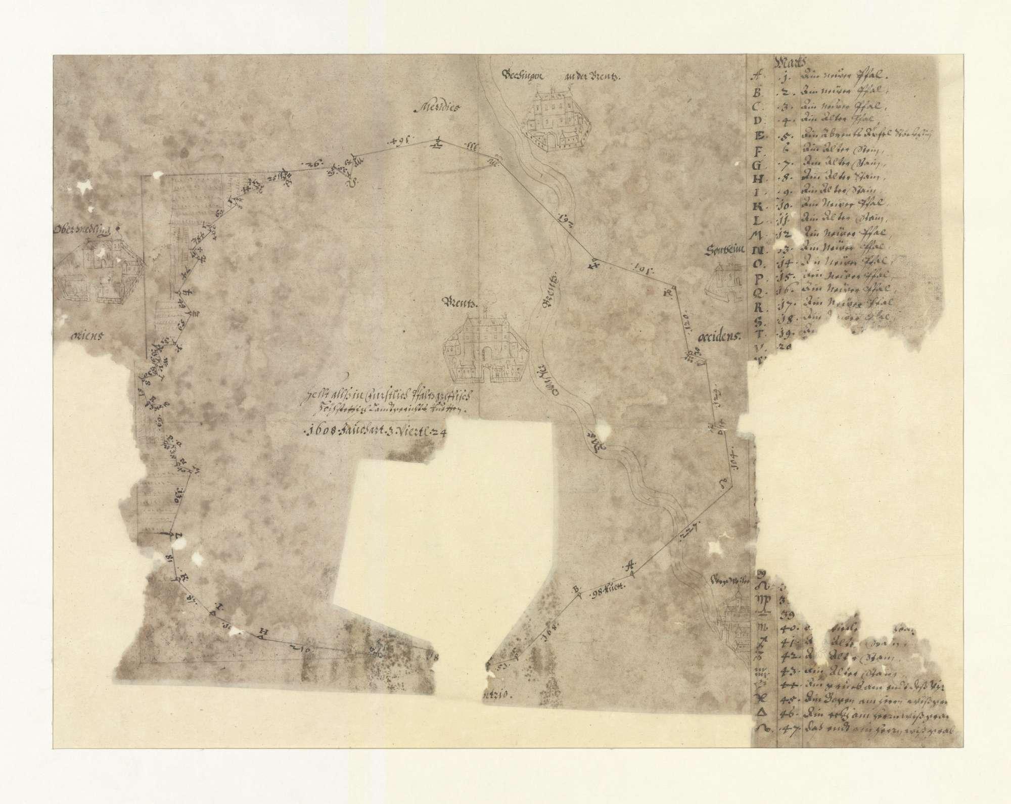 o. T. [Umriss der Gemarkung von Brenz], Bild 2