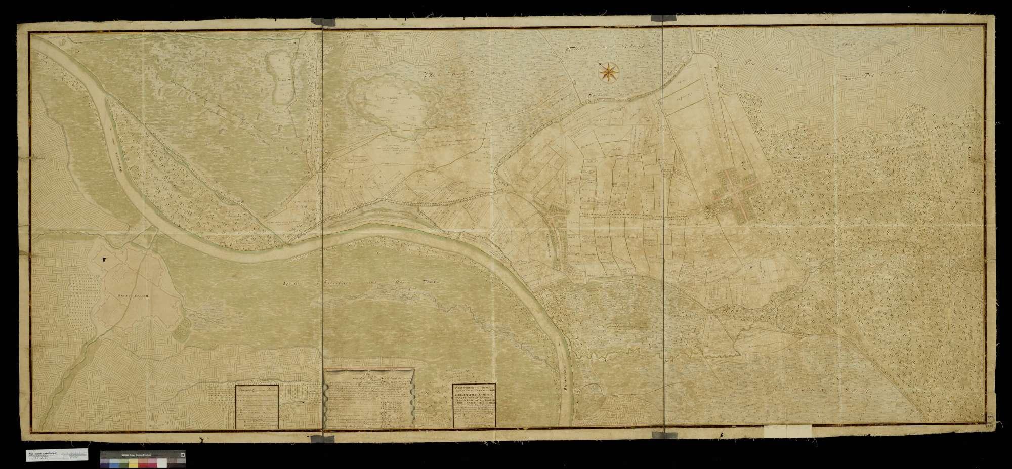 """""""Plan von Alt- und Neuloßheim"""", Bild 2"""